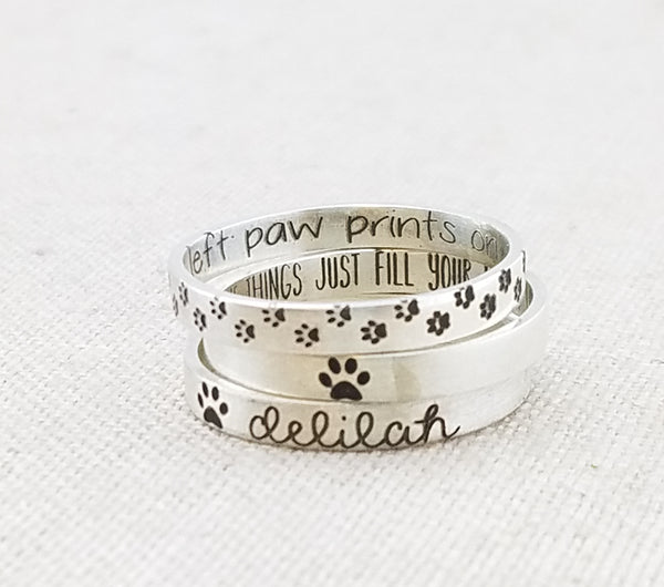 Personalized Pet Ring