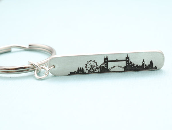 London Skyline Keychain