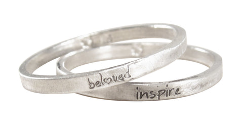Ultra Thin Personalized Stacking Ring