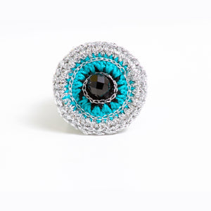 """Ojo Azul"" Ring"