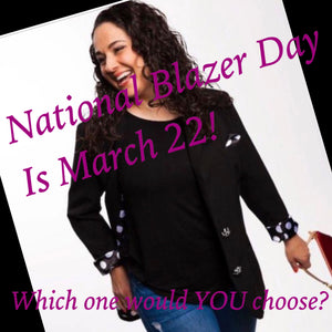 National Blazer Day!