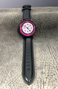 Everything Girlie Watch (Black Strap)