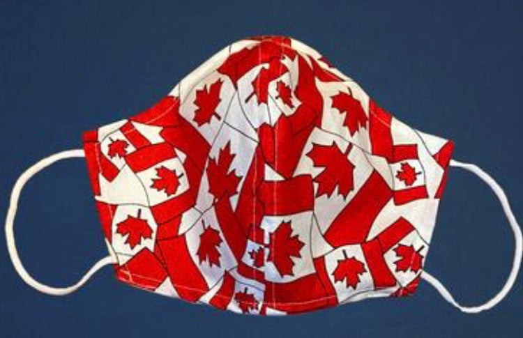 Maple Leaf Cup Style Mask
