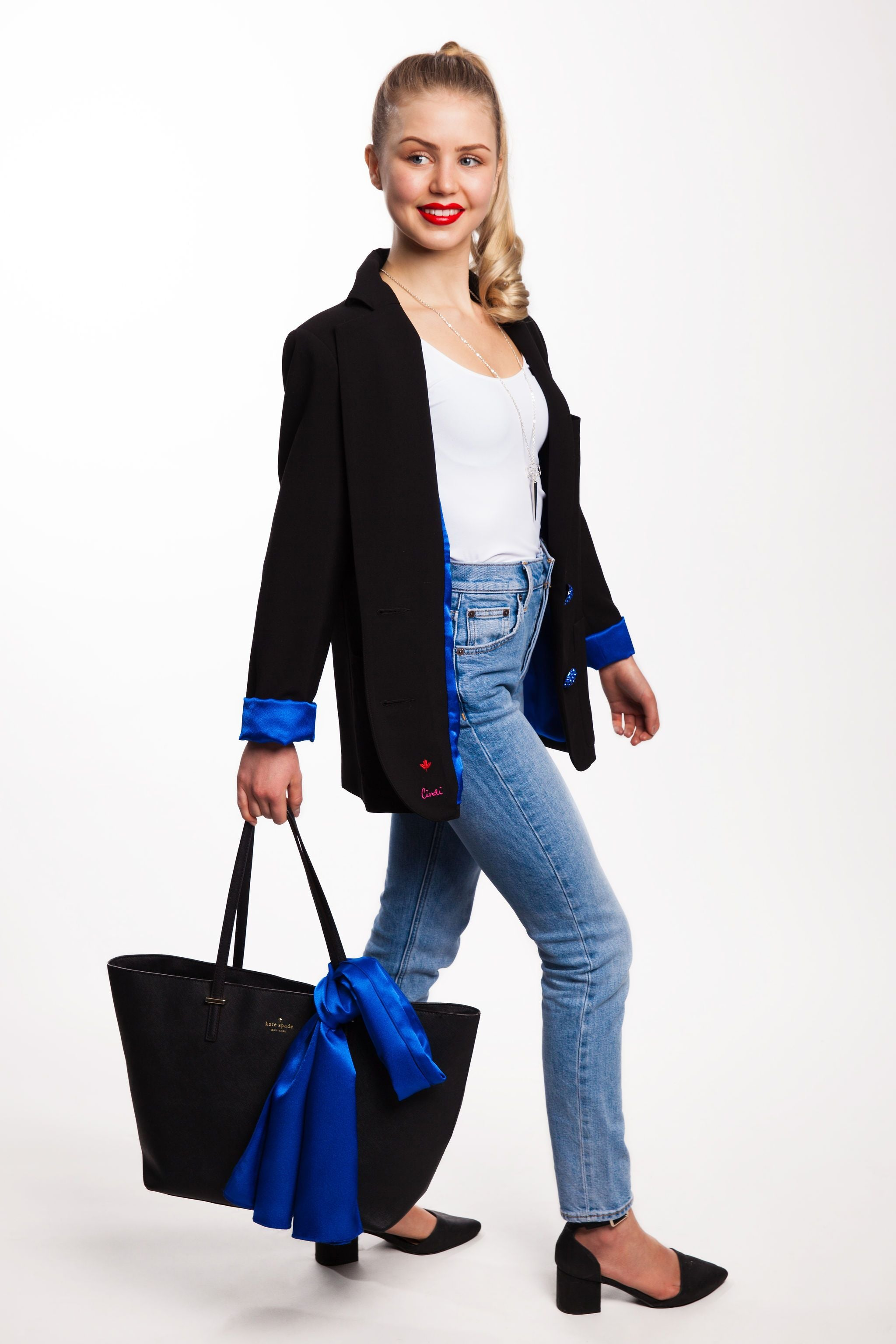 """Out Of The Blue"" Blazer"