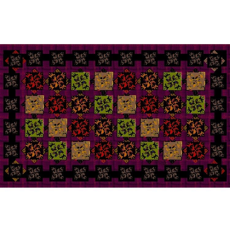 Small Silk Scarf (Patchwork)