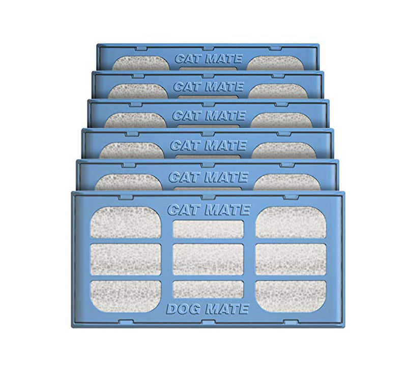 Replacement Filter Cartridges: Pet Fountain (6 Pack) (389)
