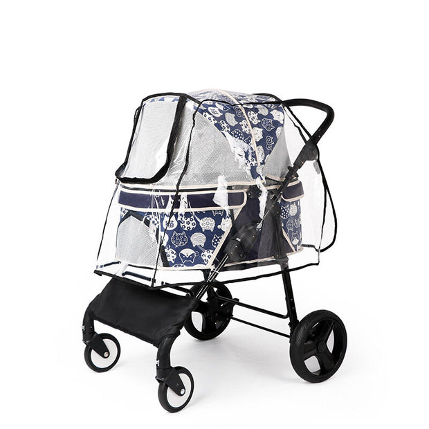 Transparent Pet Stroller