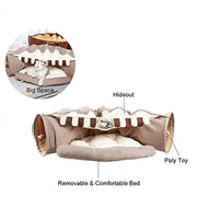 Cat Collapsible Play Tunnel