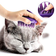 Ultra-Soft Silicone Grooming Shedding Massage Brush
