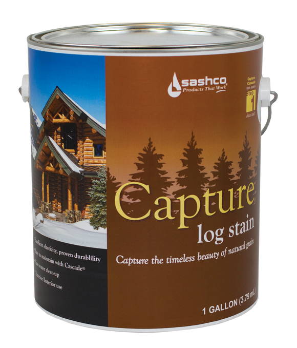 Capture Log Stain - 1 gallon (2 gallon package)