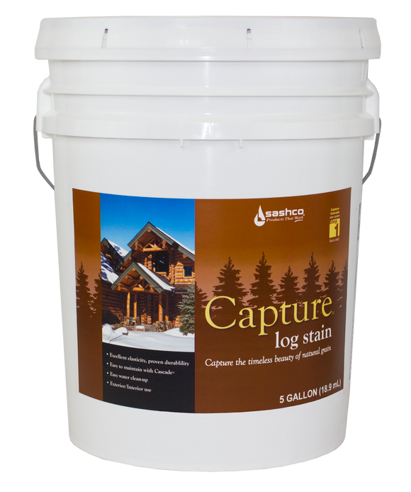 Capture Log Stain - 5gallon