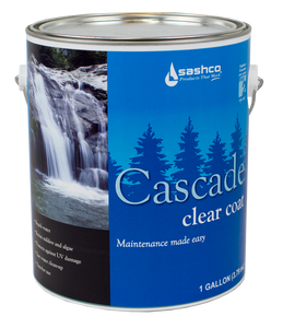 Cascade Clear Coat -  1 gallon (2 gallon package)