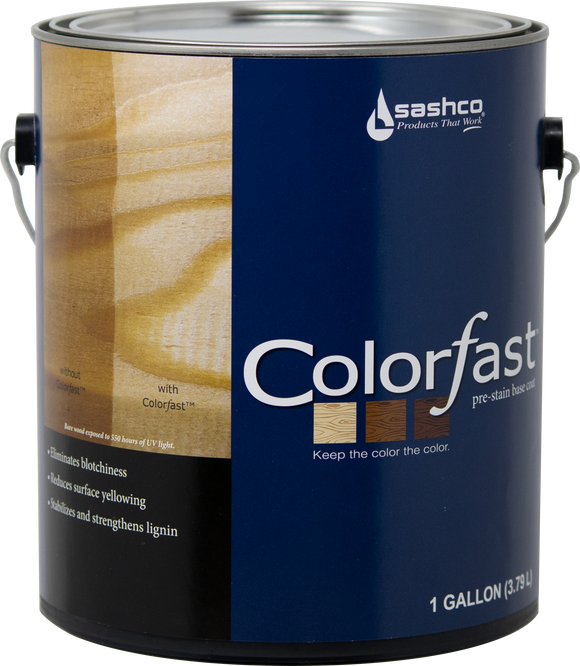 Colorfast 1 Gallon Pail (2 Gallon Package) - Pre-Stain Base Coat for Wood