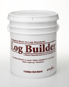 Log Builder Smooth Caulk - 5 Gallon Pail