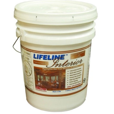 Lifeline Interior Stain 5Gallon Pail