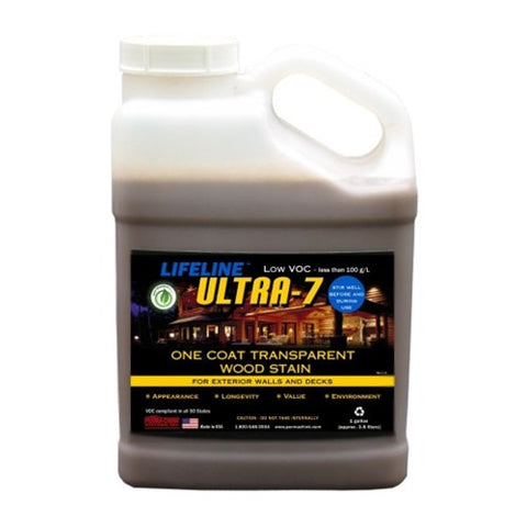 Lifeline Ultra-7 Exterior Stain 1Gallon