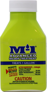 M-1 Advanced Mildewcide Sain and Paint Additive