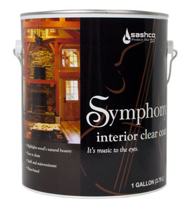 Symphony Clear Coat - 1 gallon (2 gallon package)