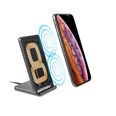 Wireless Charging Stand, Wireless Charging, Qi Compatible, Android, Apple
