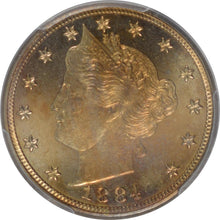 Load image into Gallery viewer, 1884 5C Liberty Nickel PCGS PR 65 CAM CAC Sticker