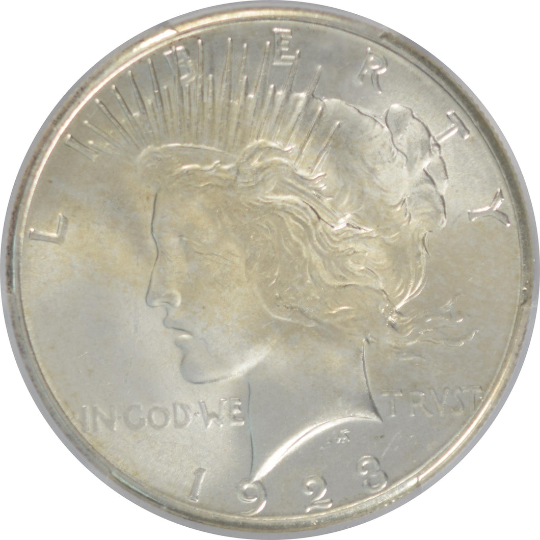 1923-S Peace Dollar PCGS MS 64 CAC