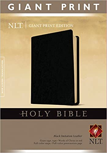 Giant Print NLT Holy Bible