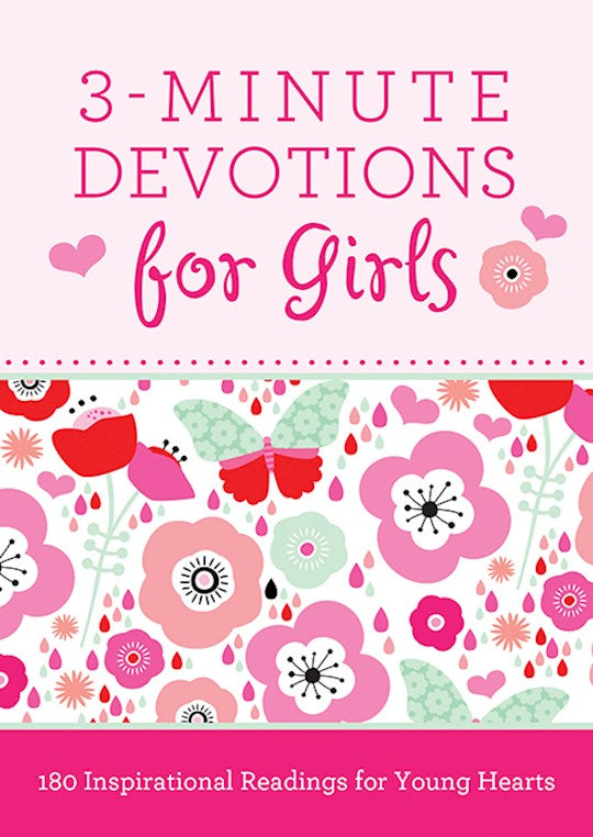 3 - Minute Devotions for Girls