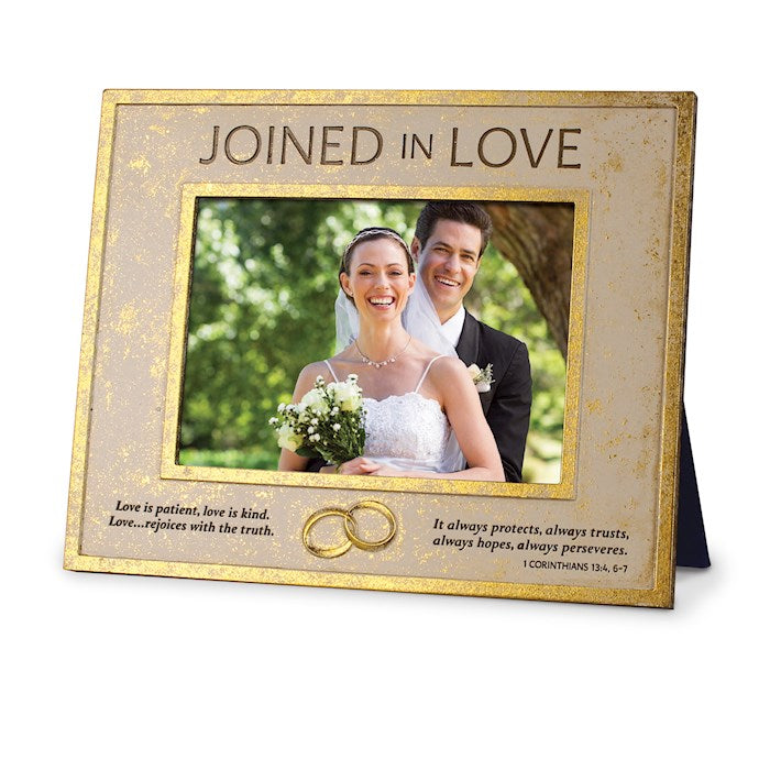Photo Frame-Joined In Love (Wedding)