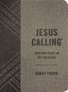 Jesus Calling-Textured Gray Leathersoft