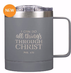 Camp Style Travel Mug-All Things-Gray (Stainless)