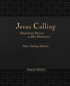 Jesus Calling Note-Taking Edition-Black LeatherSoft