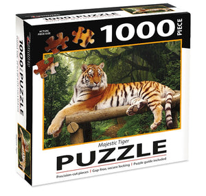 Jigsaw Puzzle-Majestic Tiger (1000 Pieces)