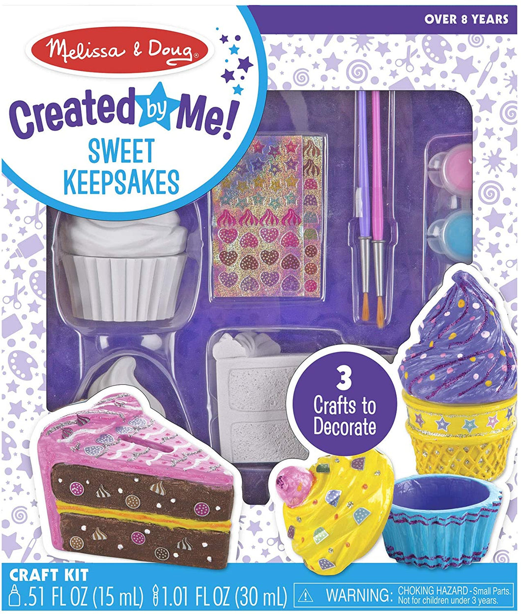 Melissa & Doug Decorate-Cup Cake Craft Kit