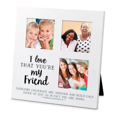 I Love That You Are My Friend, Small Collage Frame