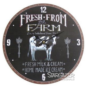 Fresh Farm Clock 13""