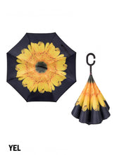 Load image into Gallery viewer, Double Layer Inverted Umbrellas W/ C-Shaped Handle