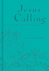 Jesus Calling (Deluxe Edition)-Teal LeatherSoft Enjoying Peace In His Presence