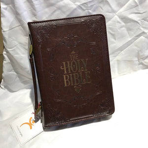 Faux Leather Embossed - Bible Case