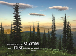 Jigsaw Puzzle-Salvation & Trust (Isaiah 12:2) (1000 Pieces)