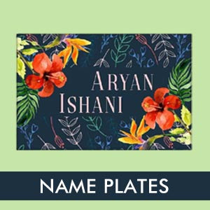 NAME PLATES FOR HOME