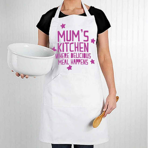 Apron For Kitchen for Mom Mothers Day Gift  - Mommy