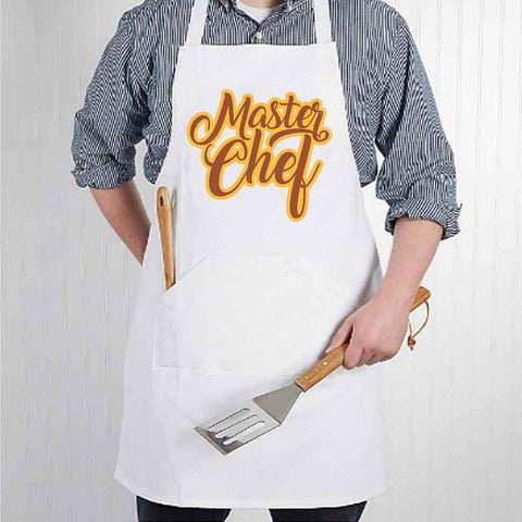Apron For Kitchen for Women Baking Cooking - Master Chef