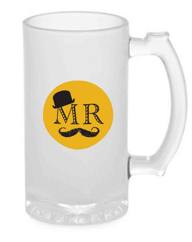 Beer Mug Glass  16 Oz - MR