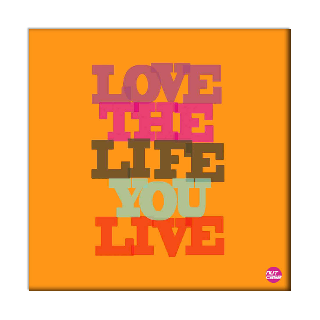 Wall Art Decor Panel For Home - Love The Life