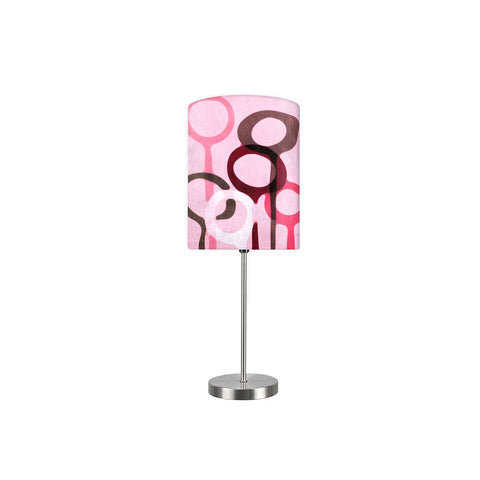 Kids Room Night Lamp - Pink Designer
