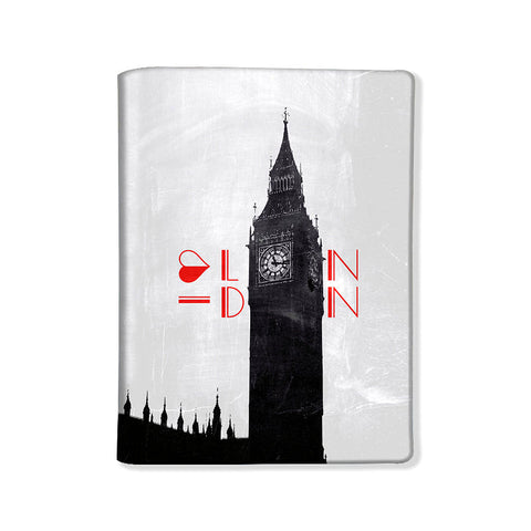 Designer Passport Cover - I Love London