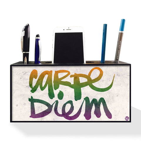 Pen Mobile Stand Holder Desk Organizer - Carpe Diem