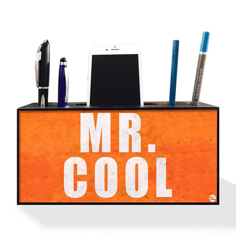 Pen Mobile Stand Holder Desk Organizer - Mr. Cool