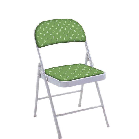 Folding Chair For Living Room Balcony Terrace  - Green Grass
