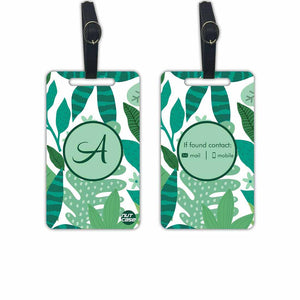 Customised Luggage Bag Tags  - Add your Name - Set of 2
